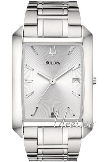 Bulova Dress Herrklocka 96B118 Silverfärgad/Stål - Bulova