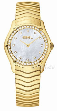 Ebel Classic Lady Damklocka 1215273 Vit/18 karat gult guld Ø27.3 mm - Ebel