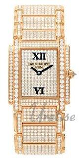 Patek Philippe Twenty~4 Damklocka 4910/50R/001 Diamantinfattad/18 karat - Patek Philippe