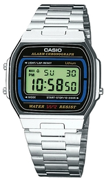 Casio Casio Collection Stål 36.8x35 mm A164WA-1VES
