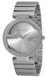 Gucci Interlocking Silverfärgad/Stål Ø37 mm YA133308