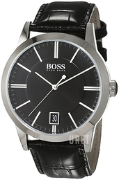 Hugo Boss Success Svart/Läder Ø42 mm 1513129