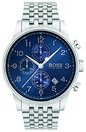 Hugo Boss Chronograph Blå/Stål Ø44 mm 1513498