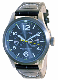 Invicta Force Grå/Läder Ø48 mm 14142