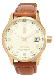 Invicta Force Champagnefärgad/Läder Ø44 mm 14789