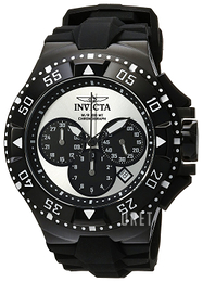 Invicta Excursion Silverfärgad/Gummi Ø50 mm 23040