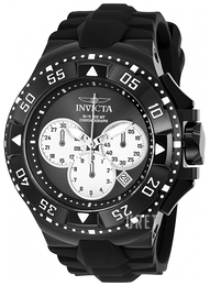 Invicta Excursion Svart/Gummi Ø50 mm 23041