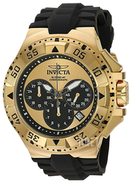 Invicta Excursion Gulguldstonad/Gummi Ø50 mm 23042