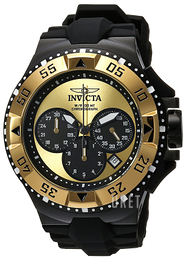 Invicta Excursion Gulguldstonad/Gummi Ø50 mm 23046