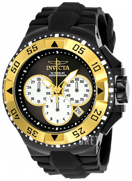Invicta Excursion Svart/Gummi Ø50 mm 23047