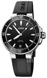 Oris Diving Svart/Gummi Ø36.5 mm 01 733 7731 4154-07 4 18 64FC