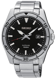 Seiko Dress Svart/Stål Ø43 mm SGEH63P1