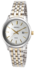 Seiko Dress Ladies Silverfärgad/Gulguldtonat stål Ø30.5 mm SUR793P1