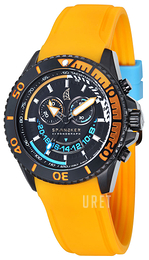 Spinnaker Amalfi Svart/Gummi Ø46 mm SP-5021-04