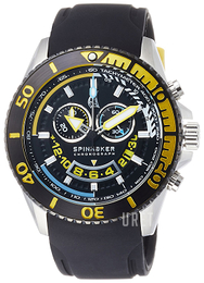 Spinnaker Amalfi Svart/Gummi Ø46 mm SP-5021-07
