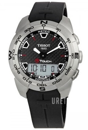 Tissot Touch Collection T Touch Svart/Gummi Ø43.6 mm T013.420.47.201.00
