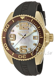 Invicta Angel Diamond Vit/Gummi Ø42 mm 0498
