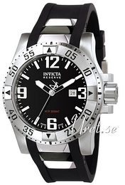 Invicta Excursion Svart/Gummi Ø53.5 mm 6252