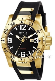Invicta Excursion Svart/Gummi Ø53.5 mm 6255