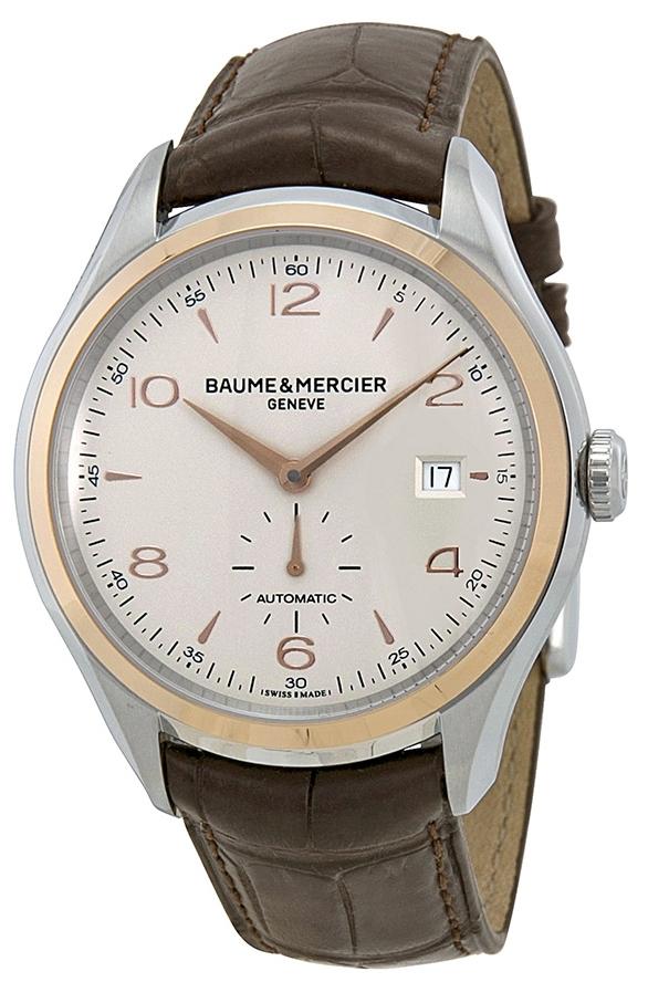 Baume & Mercier Clifton Herrklocka M0A10139 Silverfärgad/Läder Ø41 - Baume & Mercier