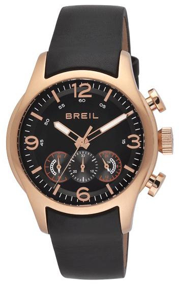 Breil Milano Herrklocka TW0775 Svart/Läder Ø46 mm - Breil