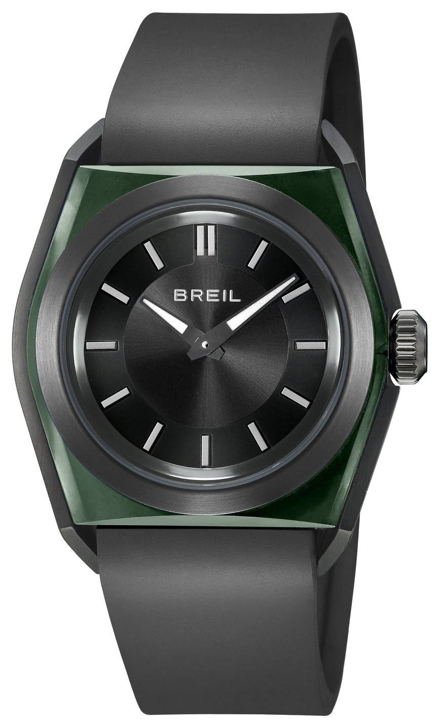 Breil Essence Herrklocka TW0981 Svart/Gummi - Breil