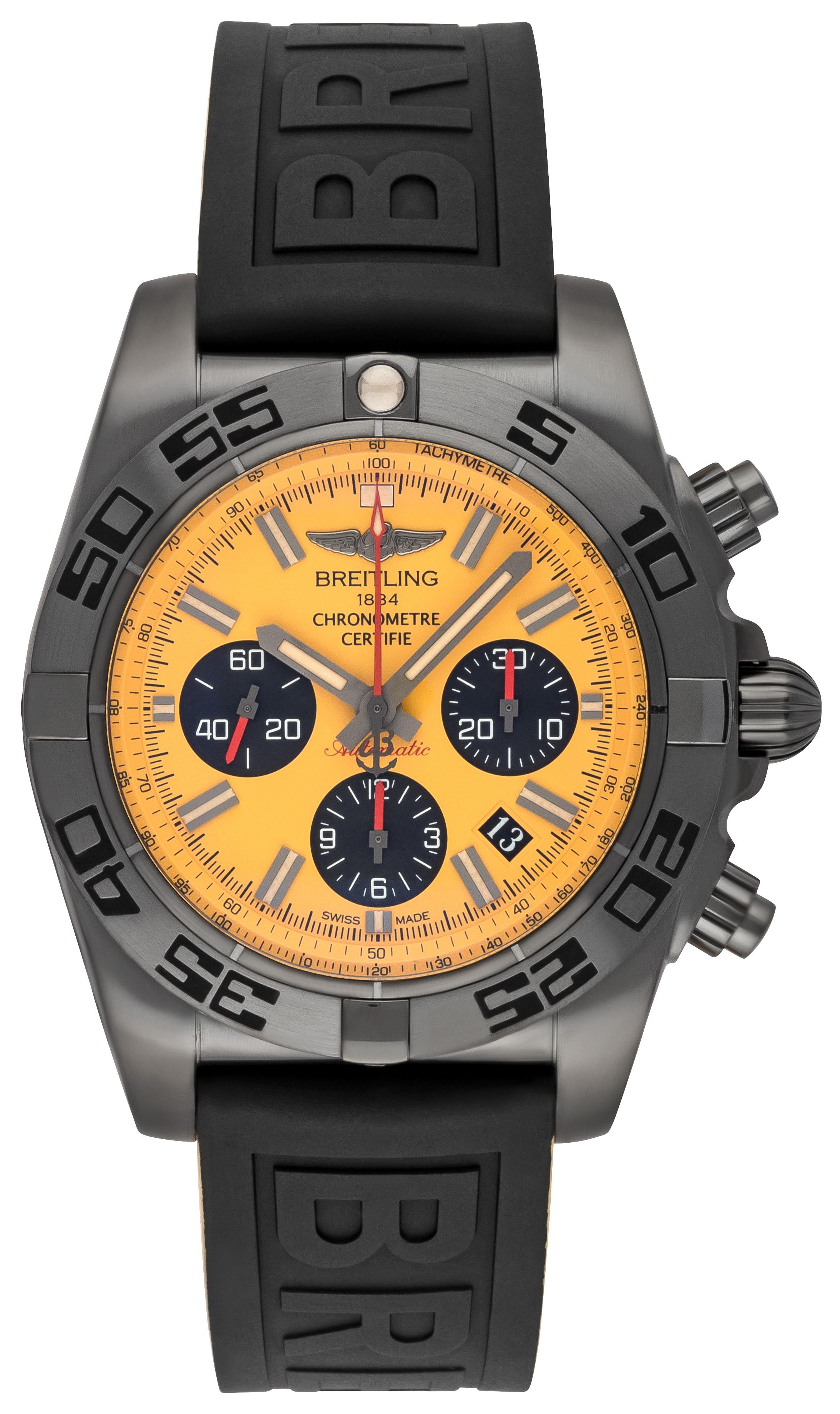 Breitling Chronomat 44 Blacksteel Herrklocka MB0111C3-I531-262S-M20DSA.2 - Breitling