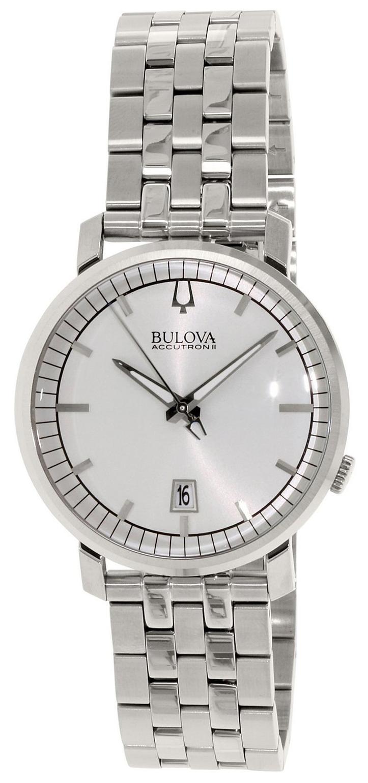 Bulova Accutron Herrklocka 96X128 Silverfärgad/Stål Ø41 mm - Bulova