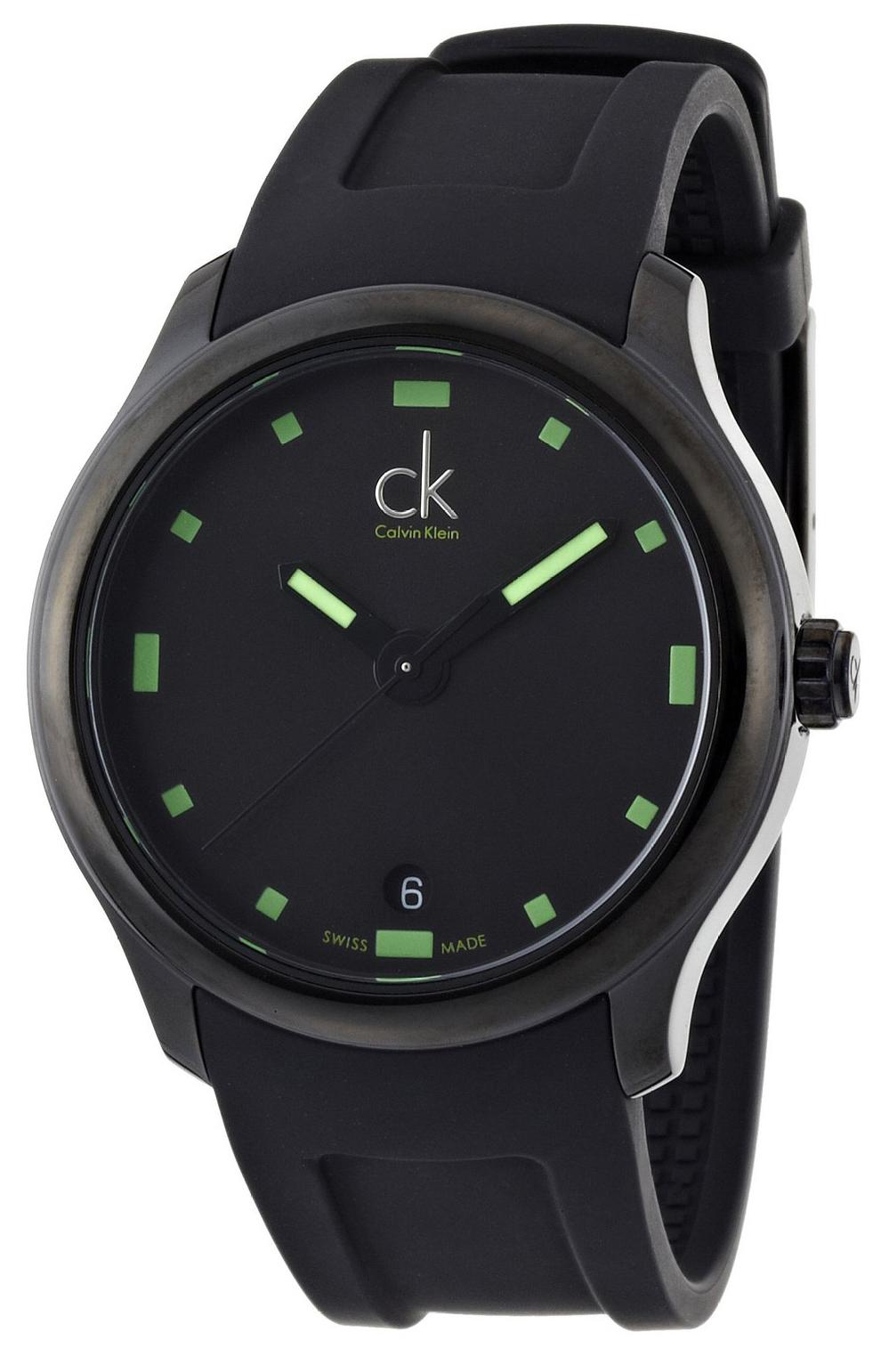 Calvin Klein Visible Herrklocka K2V214DX Svart/Gummi Ø41 mm - Calvin Klein