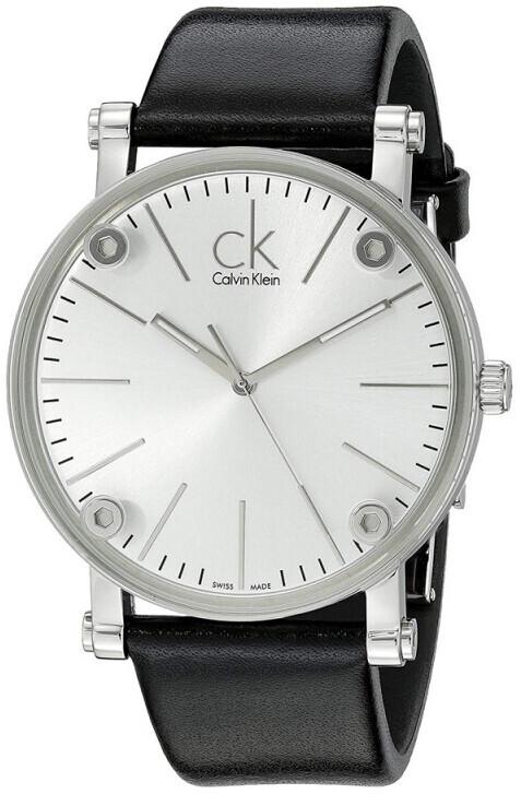 Calvin Klein Cogent Damklocka K3B231C6 Silverfärgad/Läder Ø36 mm - Calvin Klein