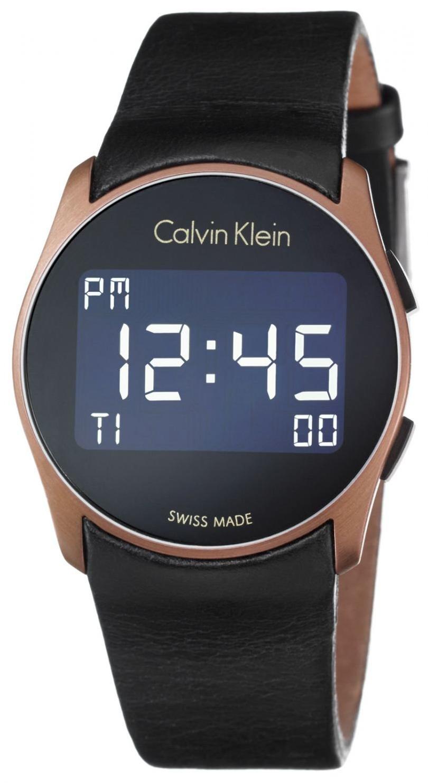 Calvin Klein Future Damklocka K5B13YC1 LCD/Läder Ø39 mm - Calvin Klein