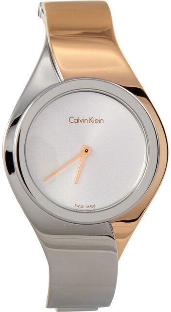 Calvin Klein Senses Damklocka K5N2M1Z6 Silverfärgad/Roséguldstonat stål - Calvin Klein
