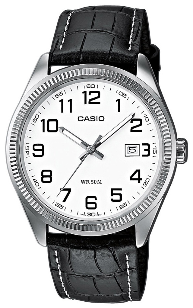 Casio Casio Collection Damklocka LTP-1302PL-7B Vit/Läder Ø30 mm - Casio