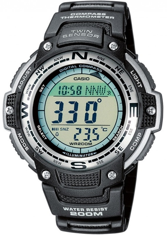 Casio Casio Collection Herrklocka SGW-100-1VEF Resinplast Ø47.6 mm - Casio