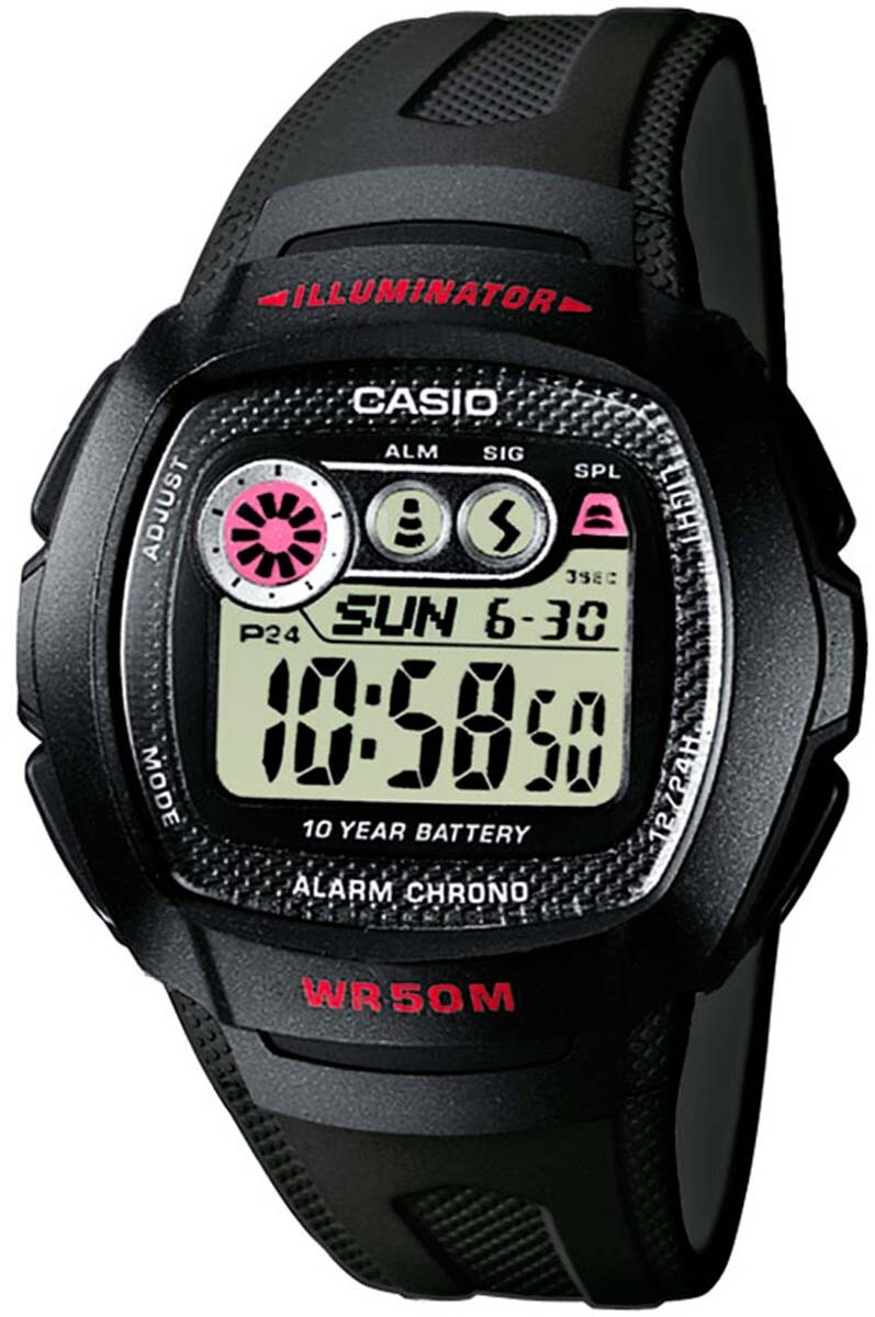 Casio Casio Collection Herrklocka W-210-1CVES Resinplast Ø40.9 mm - Casio