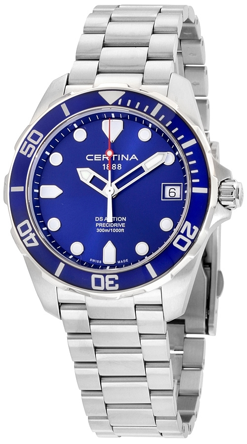 Certina DS Action Herrklocka C032.410.11.041.00 Blå/Stål Ø41 mm - Certina