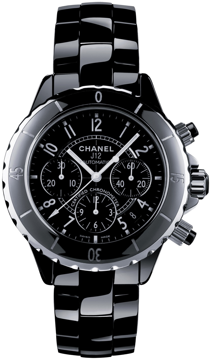 Chanel J12 Chronograph H0940 Svart/Keramik Ø41 mm - Chanel