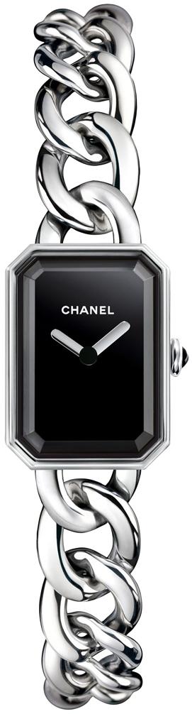 Chanel Premiere Damklocka H3248 Svart/Stål 16x22 mm - Chanel