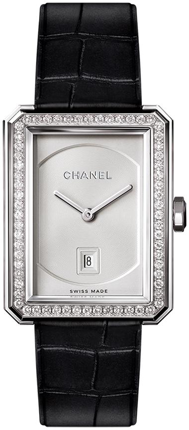 Chanel Premiere Damklocka H4470 Silverfärgad/Läder - Chanel