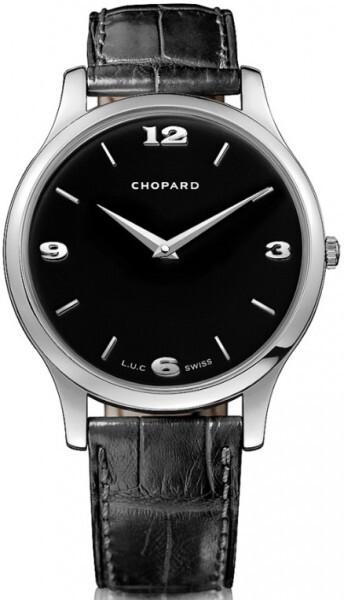 Chopard L.U.C XP Herrklocka 161902-1001 Svart/Läder Ø39.5 mm - Chopard