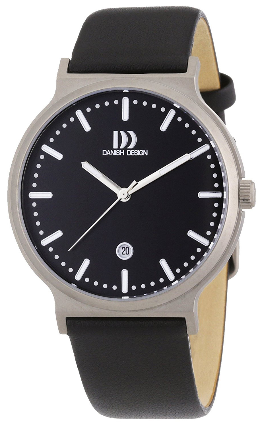 Danish Design Classic Herrklocka 3316310 Svart/Läder Ø40 mm - Danish Design