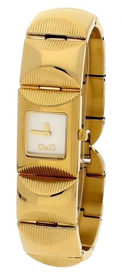 Dolce & Gabbana D&G Damklocka DW0323 Silverfärgad/Gulguldtonat - Dolce & Gabbana D&G