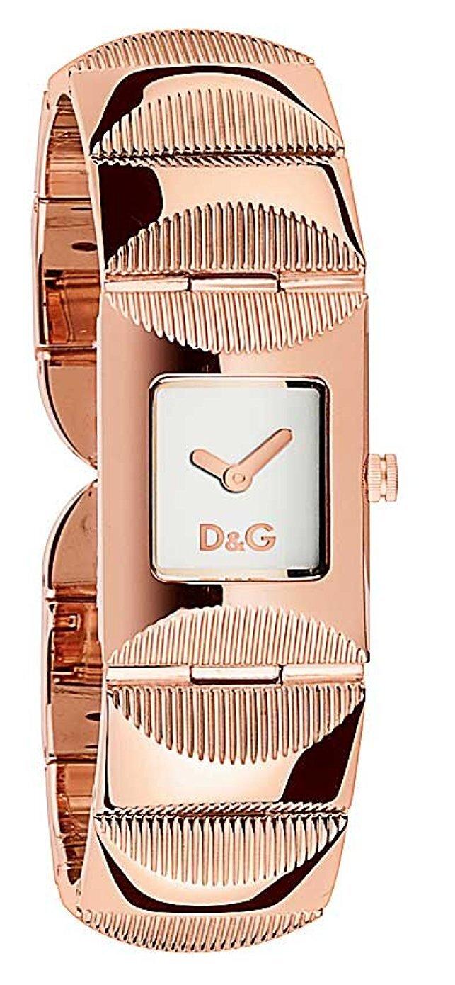 Dolce & Gabbana D&G Tweed Damklocka DW0324 - Dolce & Gabbana D&G