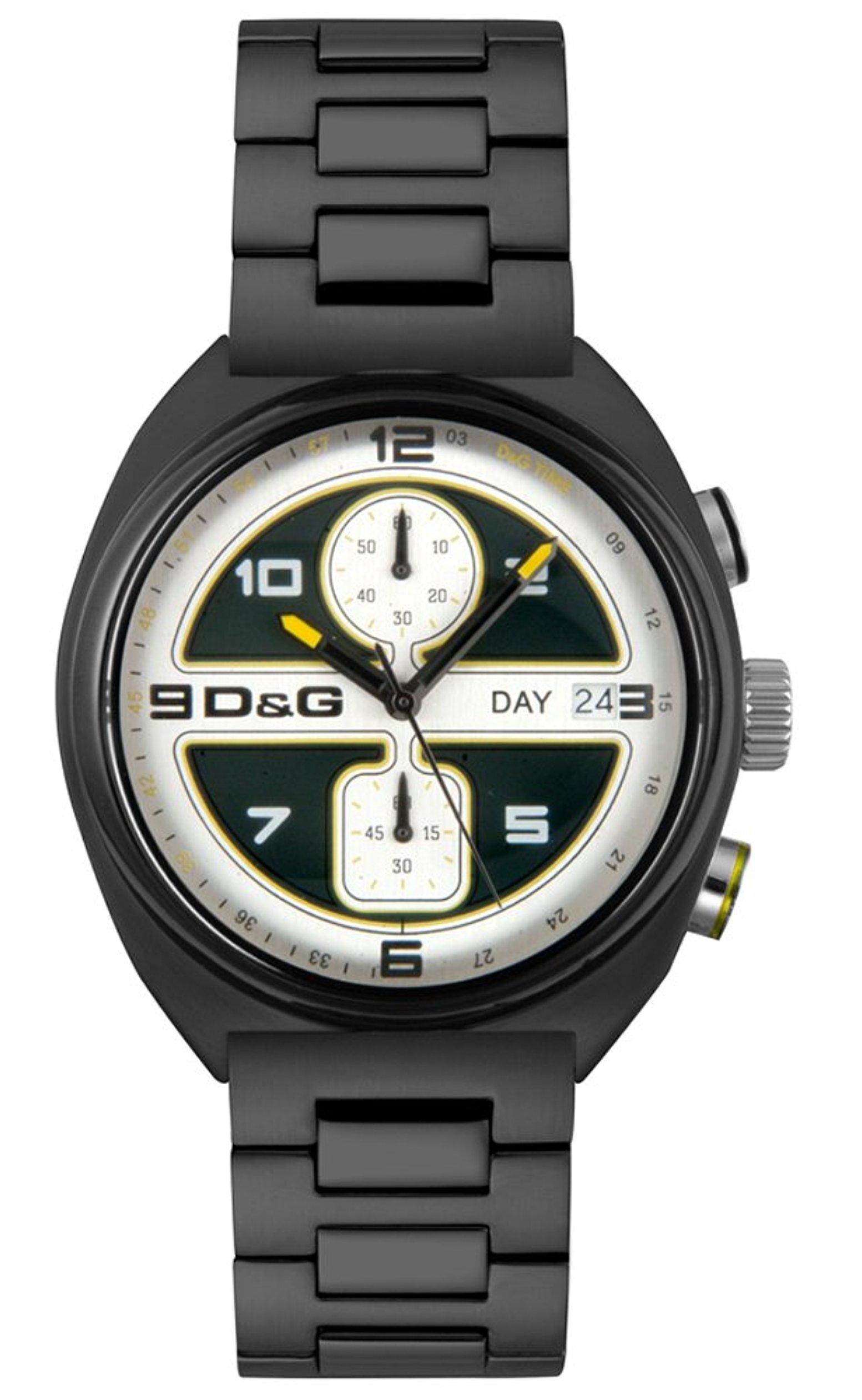 Dolce & Gabbana D&G Song Herrklocka DW0302 Svart/Stål Ø43 mm - Dolce & Gabbana D&G