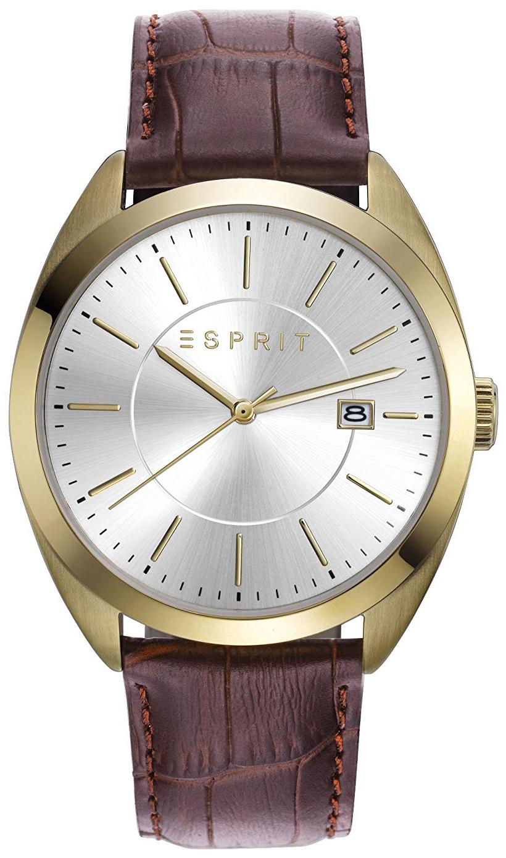 Esprit Dress Herrklocka ES108821003 Silverfärgad/Läder Ø42 mm - Esprit