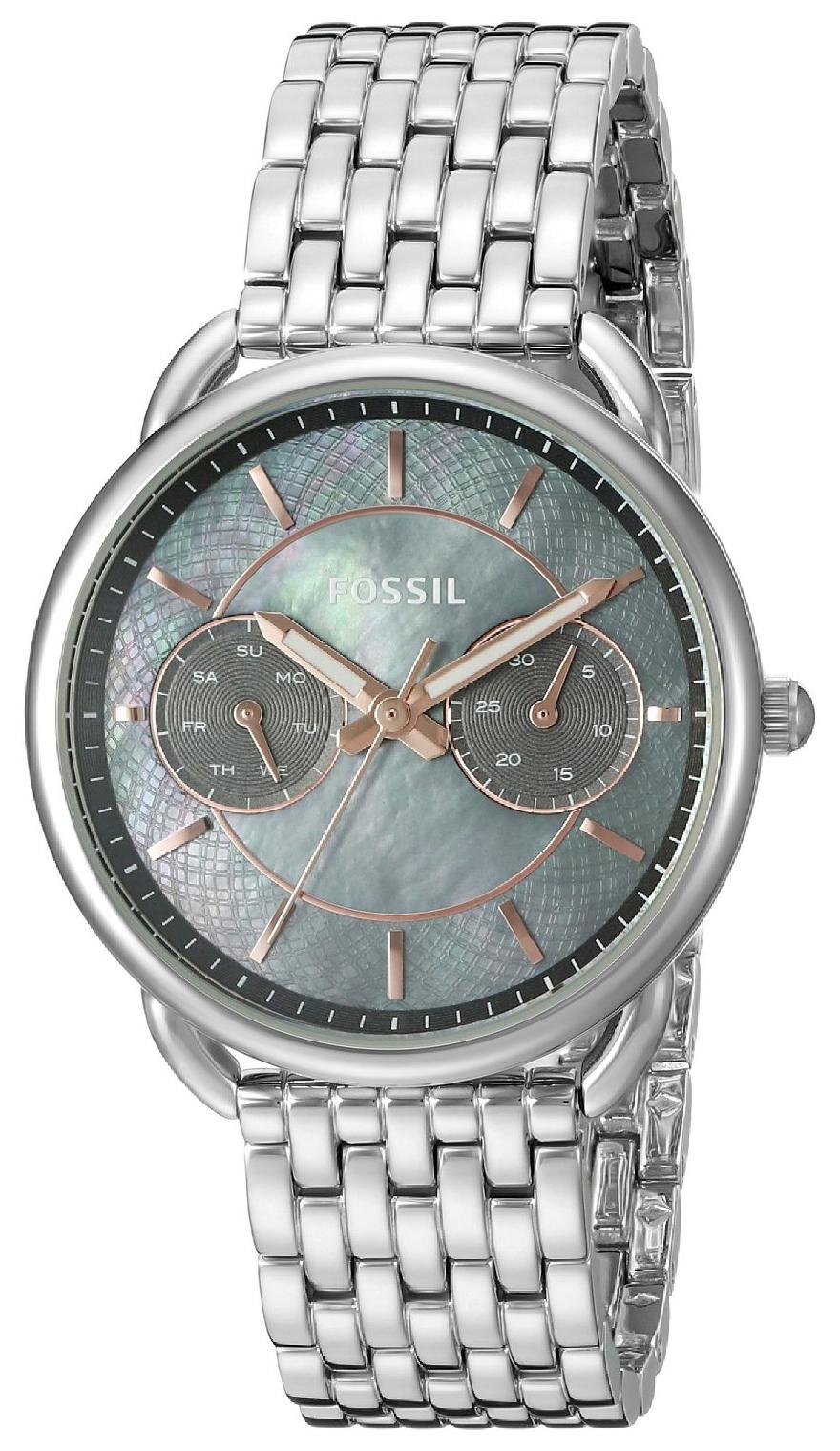 Fossil Tailor Damklocka ES3911 Silverfärgad/Stål Ø34 mm - Fossil
