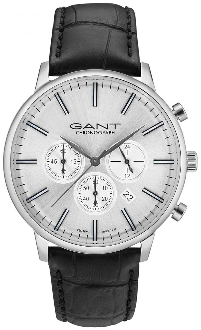 Gant Family Tilden Herrklocka GT024003 Silverfärgad/Läder Ø44 mm - Gant