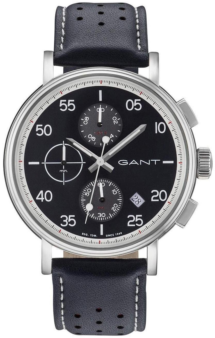Gant Wantage Herrklocka GT037001 Svart/Läder Ø45 mm - Gant