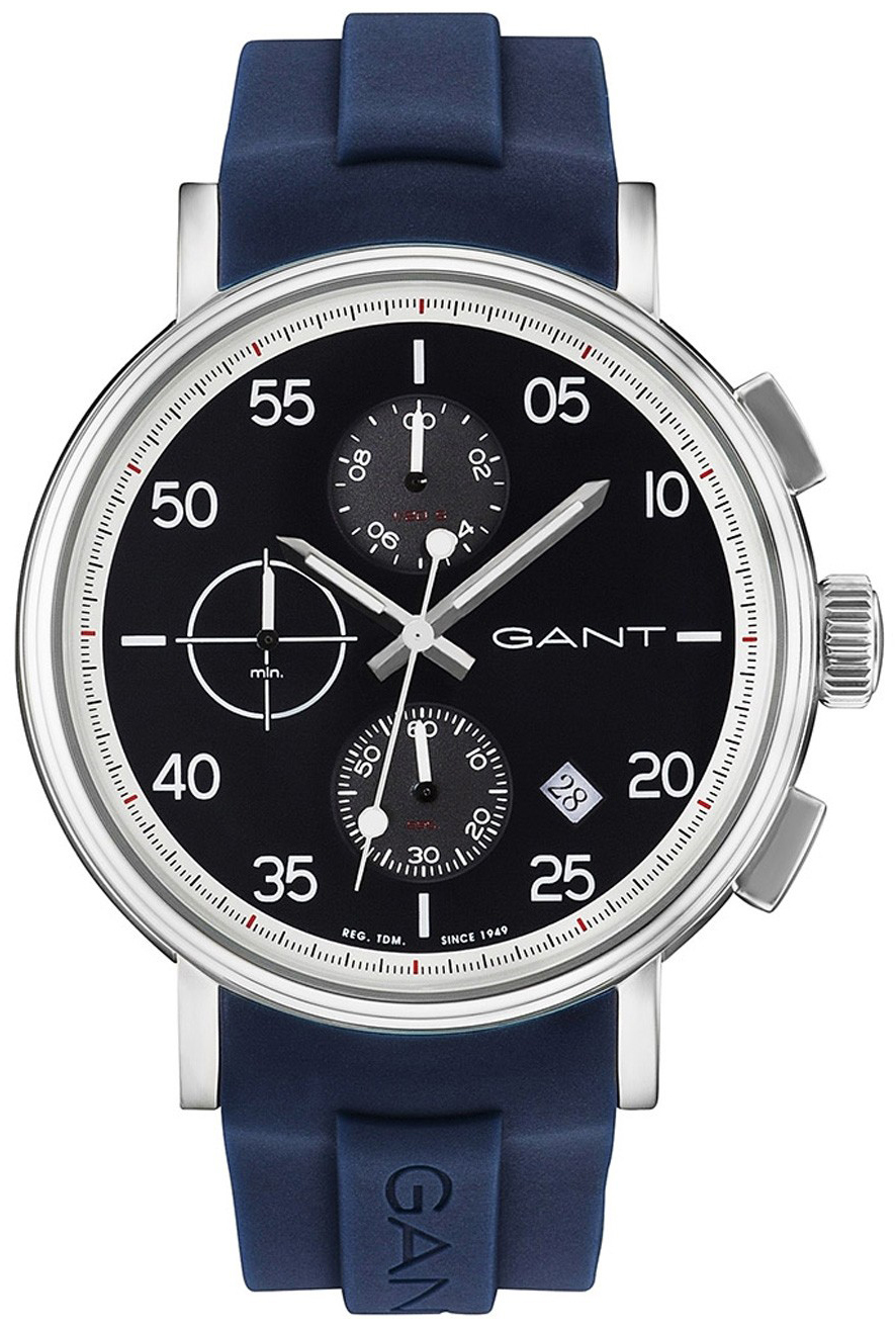 Gant Wantage Herrklocka GT037004 Svart/Gummi Ø45 mm - Gant