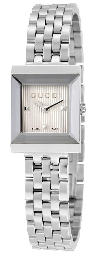 Gucci G- Frame Damklocka YA128402 Silverfärgad/Stål - Gucci